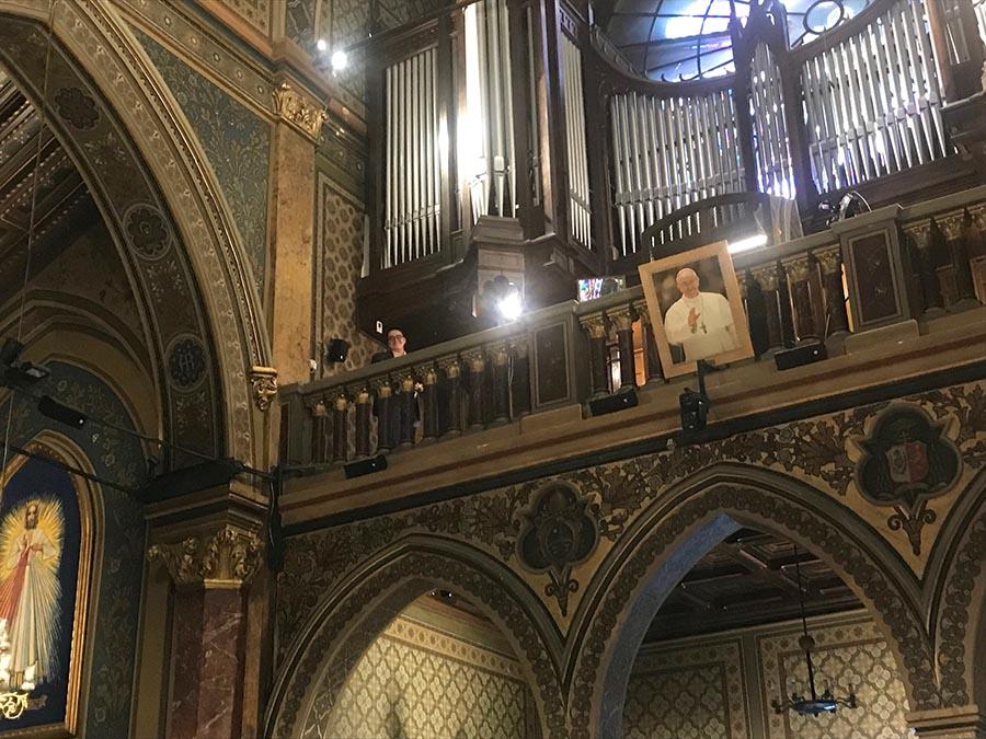 """Vlad Vișenescu - orgă • București • Catedrala """"Sfântul Iosif """""""