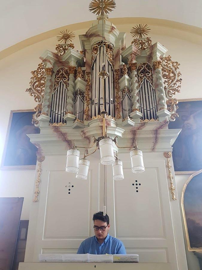 Vlad Vișenescu - orgă • Sibiu • Biserica franciscană