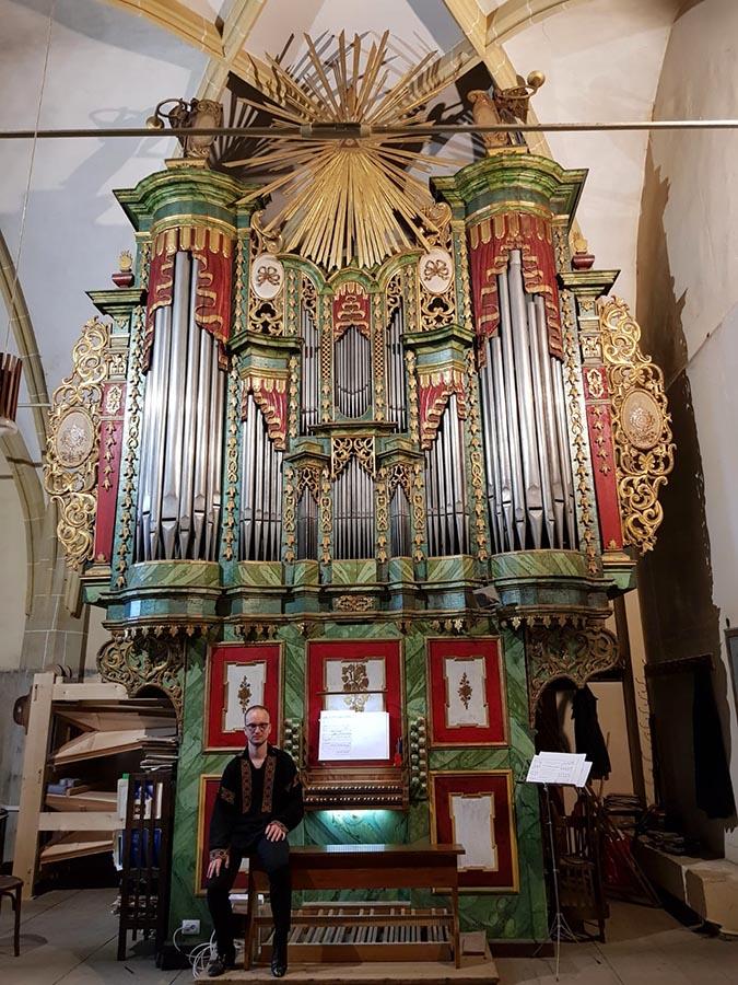 "Eduard Antal - orgă • Mediaș • Biserica evanghelică ""Sfânta Margareta"""